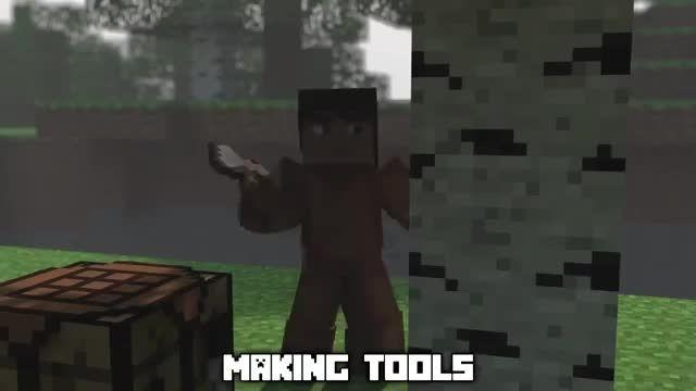 minecraft (my world) a minecraft song parody