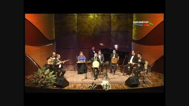 آوازخوانی و تصنیف آذربایجان منیم آلا گوز از بابک قلی اف