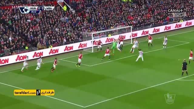 خلاصه بازی منچستریونایتد 2-0 وست برومویچ