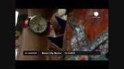 رژه مسجمه های چوبی در مکزیکوسیتی