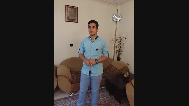 اجرای آهنگ خوشبختم اثر شهاب رمضان توسط امیرحسین امینی