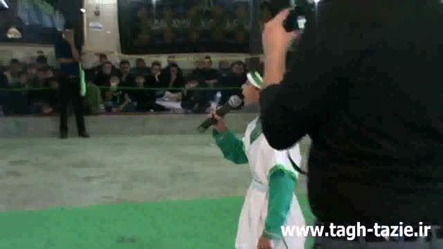 تعزیه  روز عاشورا روستای طاق شهرستان دامغان  آبان ماه94