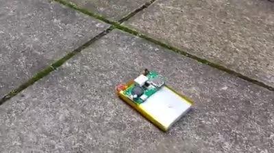 منفجر شدن باتری موبایل!!