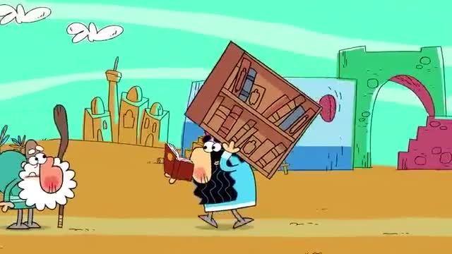 """انیمیشن درین درین-این قسمت:  """" کتاب فروشی """""""