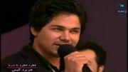 گرخیدن مجری و علی انصاریان ازآواز بسیار زیبای حمیدرضا منفرد