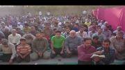 دعای بعد از نماز فطر در چاهکوتاه