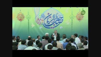 شعرخوانی حاج منصور ارضی در ولادت مولا صاحب الزمان عج