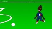 انیمیشن بازی فرانسه هندوراس