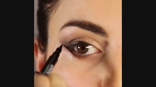 عطر سفیر - یک آموزش سریع برای سایه زدن چشم ها