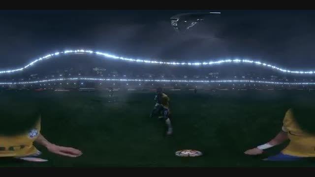 تکنولوژی واقعیت مجازی نایکی برای شبیه سازی بازی نیمار