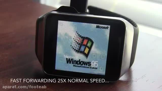 نصب سیستم عامل های مختلف روی ساعت هوشمند