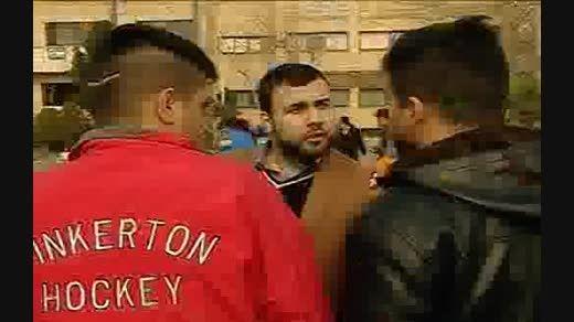 لحظه دستگیری سارقان مسلح