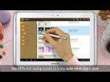ویدیو معرفی تبلت جدید سامسونگ، Galaxy  Note 10.1