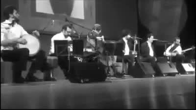 اجرای زنده ی قطعه ی صنما ، همایون شجریان