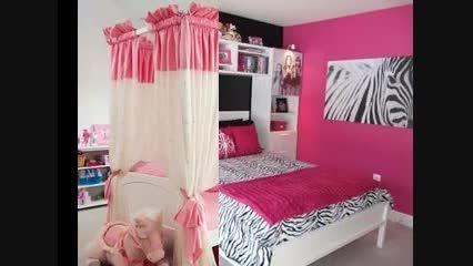 ایده هایی برای دکور اتاق دخترانه 4
