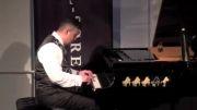 سه نوازی بسیار زیبای ویولون پیانو و تمبک.......