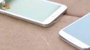 تست ضربه گوشی های Galaxy s5 و Galaxy s4 کمپانی سامسونگ