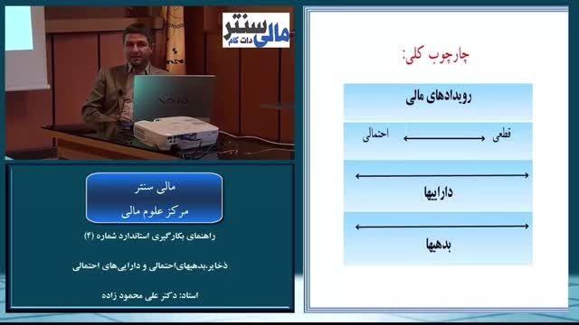آموزش تصویری استاندارد حسابداری شماره 4 استاد محمودزاده