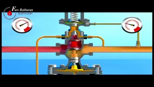 بخار سوپر هیت با کاهش فشار