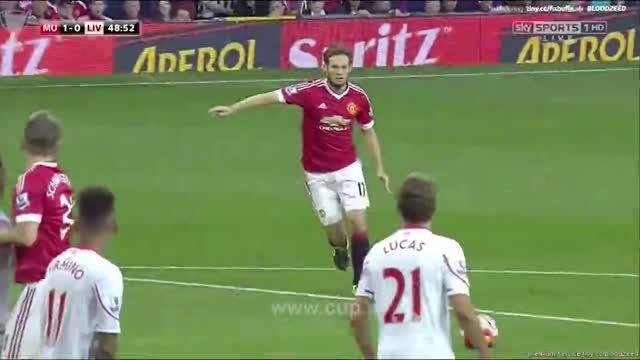خلاصه بازی ؛منچستر یونایتد- لیورپول/لیگ برتر انگلیس