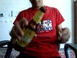 شعبده بازی _داخل كردن درب بطری در بطری