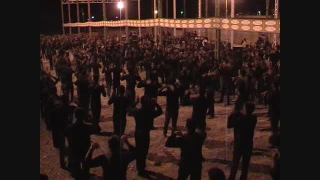 عزاداری در شب هشتم ماه محرم در شهرستان ارزوئیه