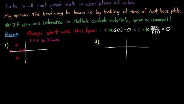 رسم نمودار مکان هندسی ریشه ها - بخش دوم