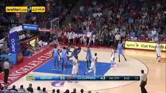 بسکتبال NBA- لس آنجلس کلیپرز 110 – 103 دنور ناگتس