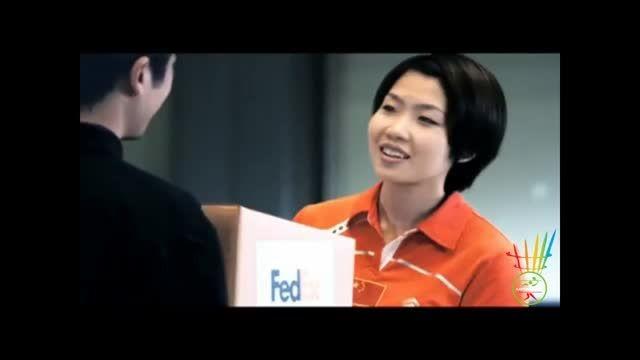 1.FedEx - A good start to a forehand serve