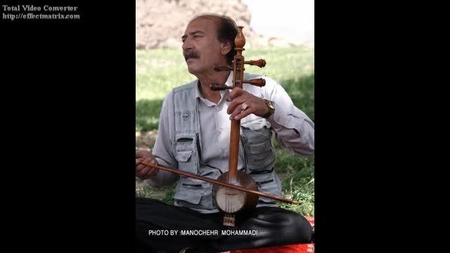 نوای کمانچه زنده یاد استاد رضا مریدی