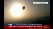 لحظه تکان دهنده انفجار بالن در هوا / فیلم