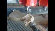 دستگاه CNC هشت کله چهار محور همزمان منبت کاری پایه مبل