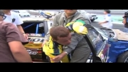 حادثه مسابقات دریفت ژاپن از نمایی کامل تر