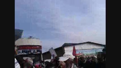 راهپیمای روز 22 بهمن 93 دبیرستان شهید آزادجو طبری