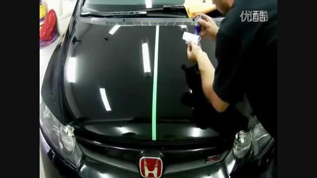 ترفند براق ساختن بدنه خودرو