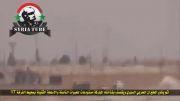 سقوط بمب در محل تجمع تروریست ها