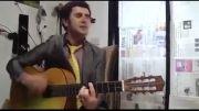 گیتار زدن یه هنرمند معروف