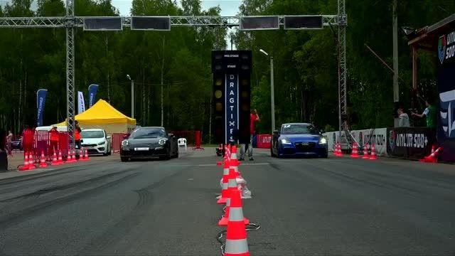 آئودی TT RS در مقابل پورشه 911 Turbo S
