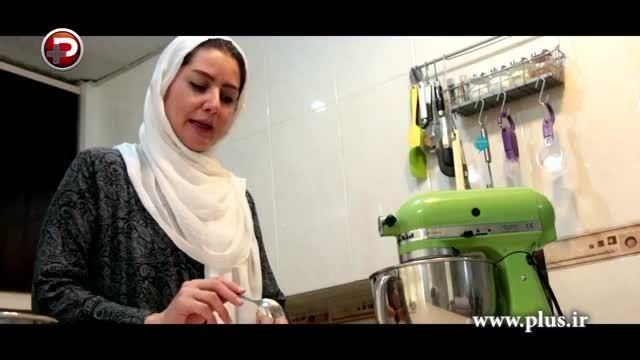 آموزش پخت آسان و خانگی کیک کدو حلوایی در 5 دقیقه