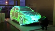 ماشین bmw و اجرای زیبا با نور بر روی ماشین (خیلی جالبه)