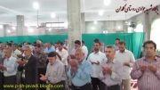 برپایی نماز عید سعید فطر در مسجد روستای کلمدان