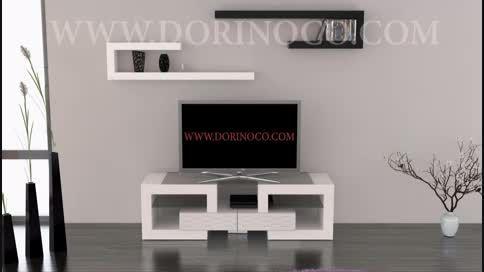 میز تلویزیون متحرک و پازلی مدل S1 (درینو سبکی نو)