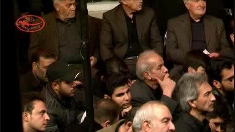 شب تاسوعا 93-روضه خوانی آقای منتظر در مسجد جامع کاشان