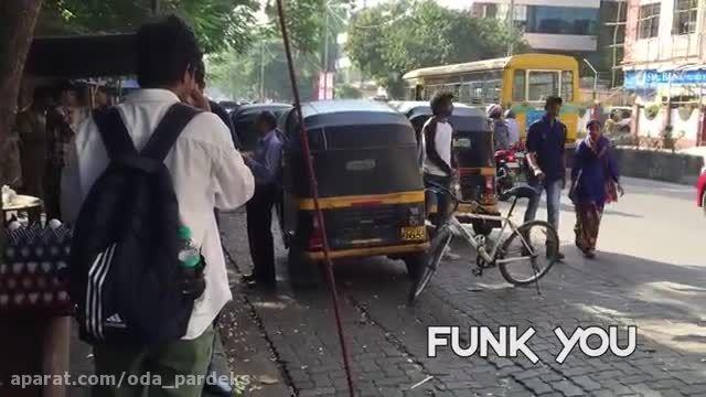 دوربین مخفی - Prank - دزدیدن دوچرخه