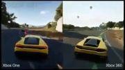 مقایسه گرافیک بازی فورزا 2 در xbox 360 و xbox one