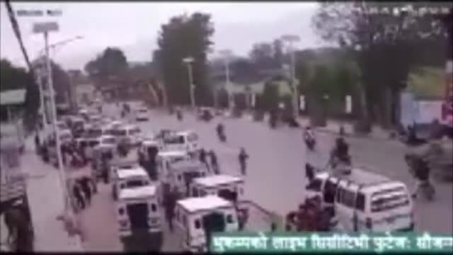 زلزله ی نپال