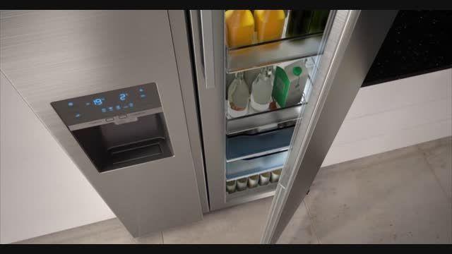 یخچال فریزر هوشمندSamsung RH77H90507F در بانه کالا
