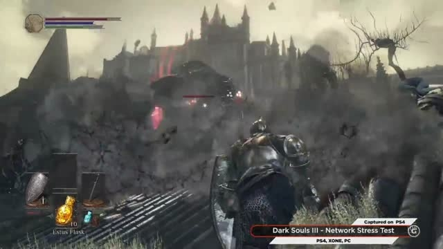 نمایشی از گیم پلی Dark Souls III
