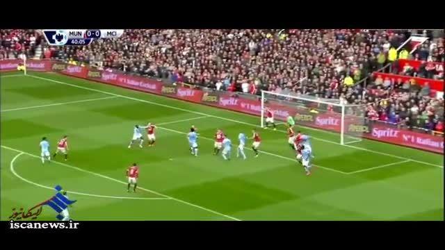 خلاصه بازی : منچستر یونایتد 0 - منچستر سیتی