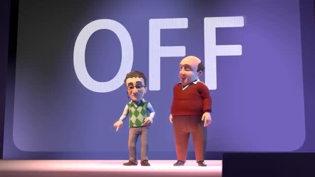 انیمیشن سریالی تام سخنگو و دوستان قسمت سوم